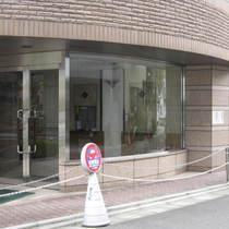 朝日サテライト目黒台のエントランス