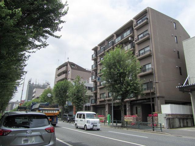 プリンスハイツ西早稲田の外観