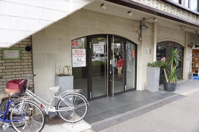ラポール元町(横浜市)のエントランス