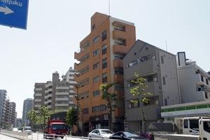 高田橋ハイツの外観
