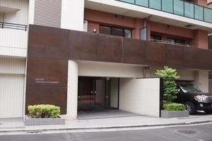 クオリア千代田御茶ノ水のエントランス