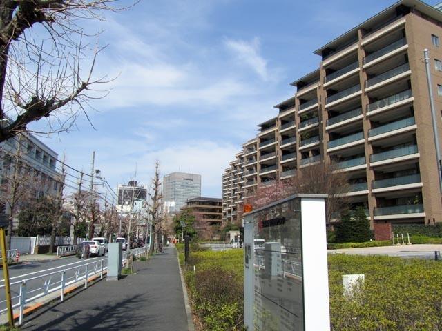 広尾ガーデンフォレスト(A〜H棟)の外観