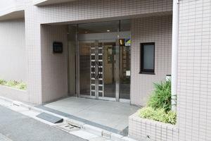 藤和シティコープ江古田のエントランス