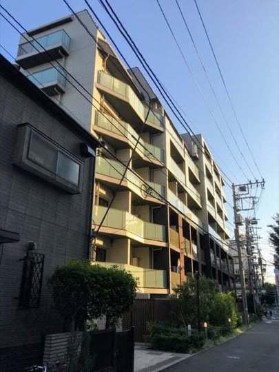パークリュクス渋谷西原の外観