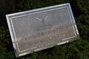 グローベル東高円寺レスティアーナの看板