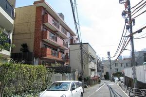 ヴァンヴェール渋谷の外観