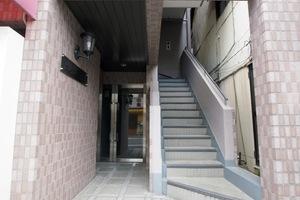 グレイス千川のエントランス