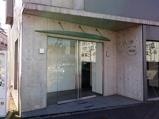 ヴェトロ南蒲田のエントランス