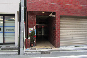 キャッスルマンション西新宿のエントランス