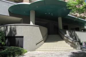西早稲田パークタワーのエントランス