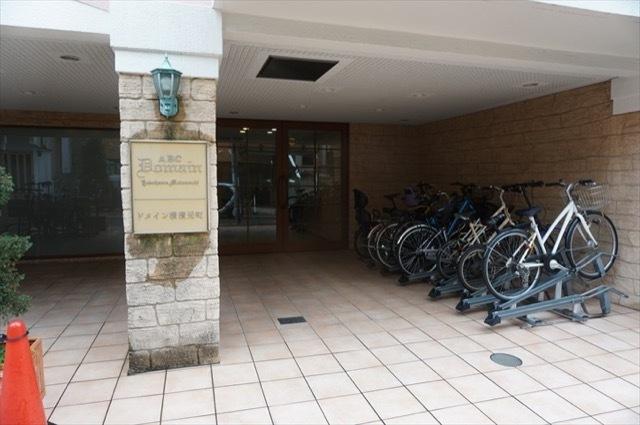 ドメイン横浜元町のエントランス