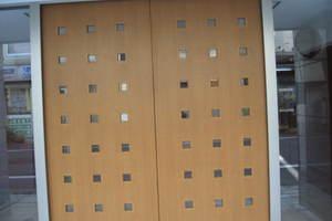 ザパームス代々木上原3アクアビューテラスのエントランス