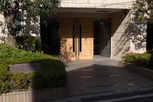 駒沢公園シティハウスのエントランス
