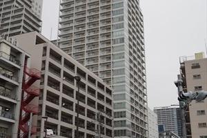 パークタワー芝浦ベイワードオーシャンウイングの外観