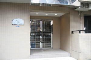 プレール渋谷壱番館のエントランス