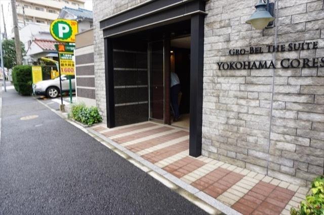 グローベルザスイート横浜コアシスのエントランス
