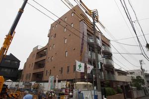 小石川ゴールデンマンションの外観