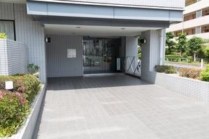 中村橋シティハウスのエントランス