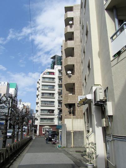 サンフローラハイツ渋谷の外観