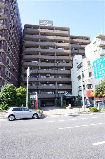 ダイアパレス東神奈川ベイフロントの外観
