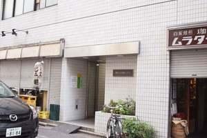 神田小川町ハイツのエントランス