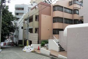 レックス西早稲田の外観