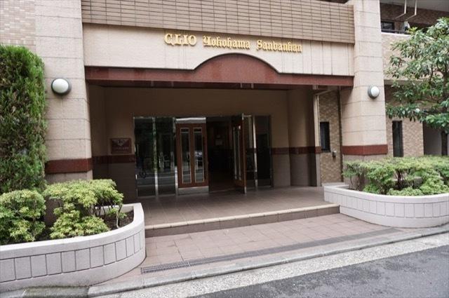 クリオ横浜3番館のエントランス