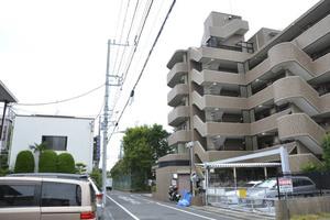 ライオンズマンション江戸川高田公園の外観
