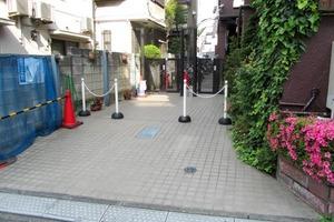 コーポ橘(新宿区)のエントランス