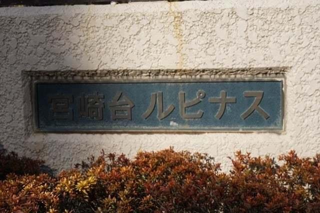 宮崎台ルピナスの看板
