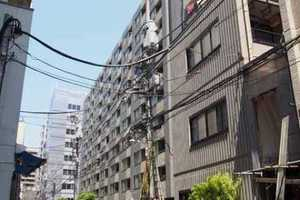 コスモ上野パークサイドシティの外観