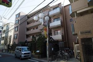 東急ドエルアルス三軒茶屋弐番館の外観