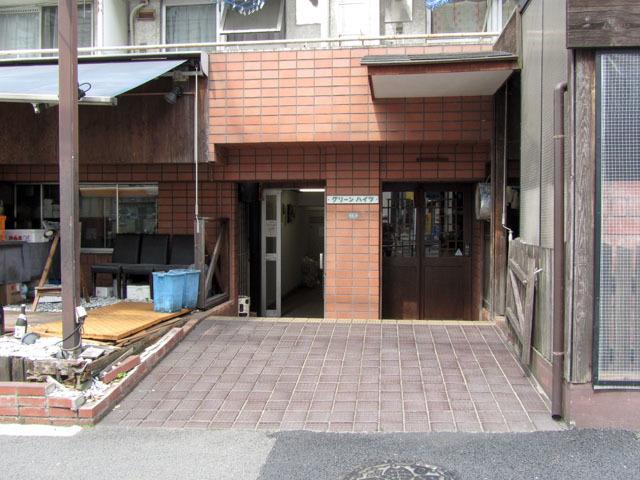 グリーンハイツ(渋谷区)のエントランス