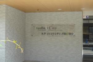 エクセレントシティ堀切菖蒲園アイリスアヴェニューの看板