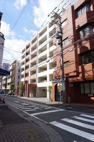 藤和シティホームズ横浜蒔田クレーデルコートの外観
