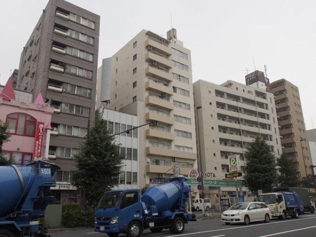 ニューライフ志村坂上の外観