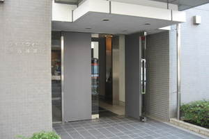 ウィズウィース渋谷神南S棟のエントランス
