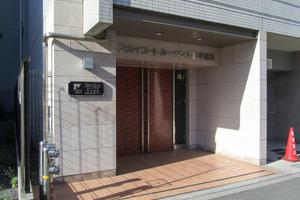 スカイコートルーベンス西早稲田のエントランス