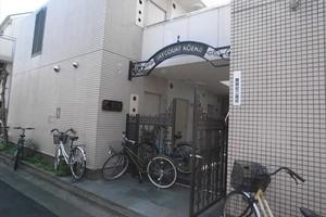スカイコート高円寺のエントランス