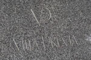 ヴィラプレヴィアの看板