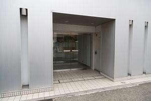 ビシーム鷺ノ宮のエントランス