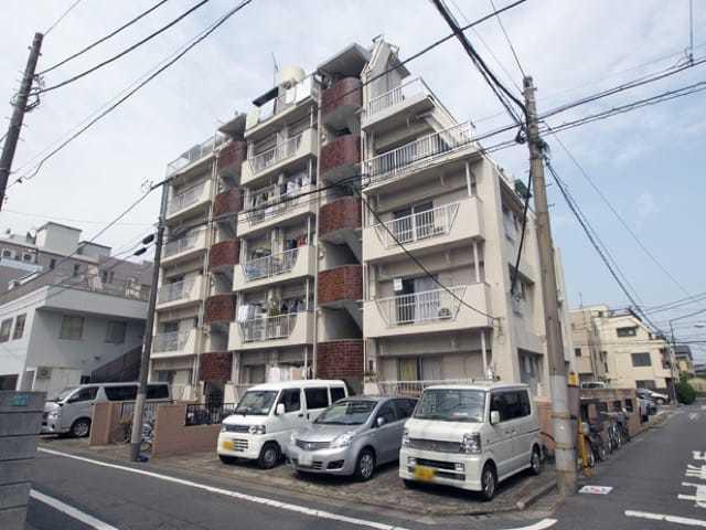 第2東長崎マイコーポの外観