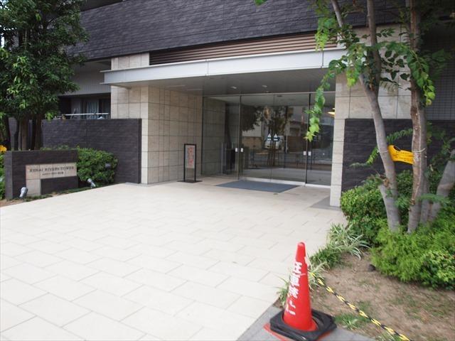 ルネリバーズタワー東大島のエントランス