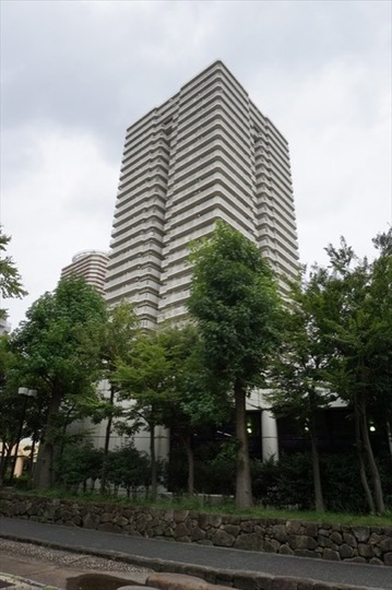 パークシティ新川崎の外観