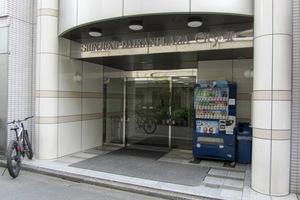 新宿ダイカンプラザシティ2のエントランス