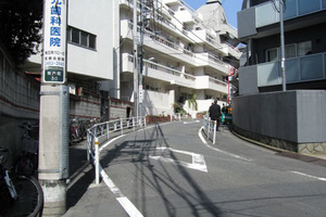 渋谷アジアマンションの外観