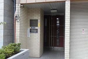 サニーハイツ錦糸町のエントランス