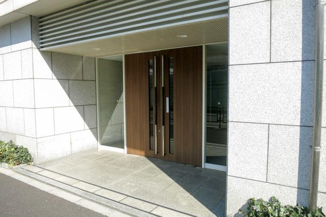 シテリオ渋谷松濤のエントランス