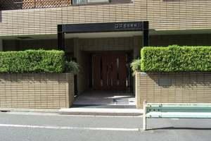 コスモ目黒東山のエントランス
