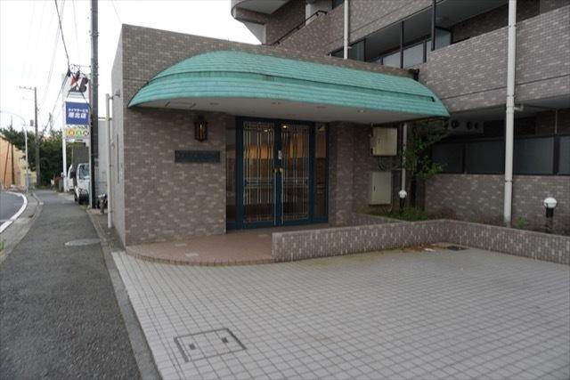 横浜小机西パークホームズ2番館のエントランス